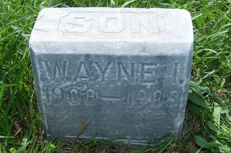 BROWN, WAYNE I. - Frontier County, Nebraska | WAYNE I. BROWN - Nebraska Gravestone Photos