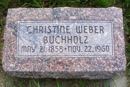 BUCHHOLZ, CHRISTINE - Frontier County, Nebraska | CHRISTINE BUCHHOLZ - Nebraska Gravestone Photos