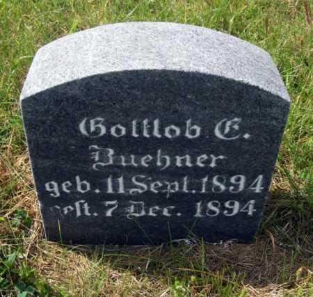 BUEHNER, GOTTLOB C. - Frontier County, Nebraska | GOTTLOB C. BUEHNER - Nebraska Gravestone Photos