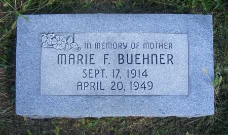 BUEHNER, MARIE F. - Frontier County, Nebraska   MARIE F. BUEHNER - Nebraska Gravestone Photos
