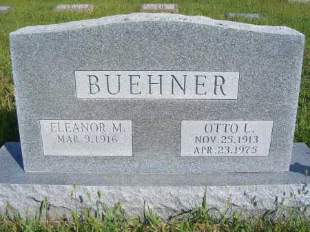 BUEHNER, ELEANOR M. - Frontier County, Nebraska | ELEANOR M. BUEHNER - Nebraska Gravestone Photos
