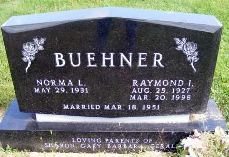 BUEHNER, RAYMOND I. - Frontier County, Nebraska   RAYMOND I. BUEHNER - Nebraska Gravestone Photos
