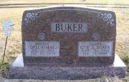 BUKER, GUY S. - Frontier County, Nebraska | GUY S. BUKER - Nebraska Gravestone Photos