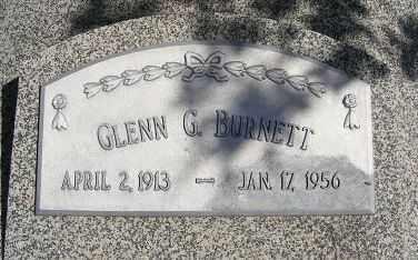 BURNETT, GLENN G. - Frontier County, Nebraska | GLENN G. BURNETT - Nebraska Gravestone Photos