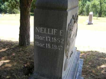 BURNETT, NELLIE E. - Frontier County, Nebraska | NELLIE E. BURNETT - Nebraska Gravestone Photos