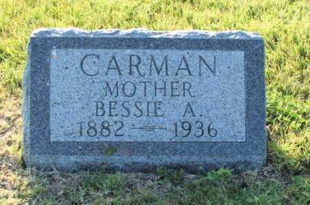 CARMAN, BESSIE A. - Frontier County, Nebraska | BESSIE A. CARMAN - Nebraska Gravestone Photos