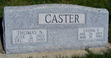 CASTER, THOMAS N. - Frontier County, Nebraska | THOMAS N. CASTER - Nebraska Gravestone Photos