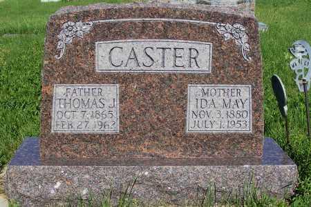 CASTER, THOMAS J. - Frontier County, Nebraska | THOMAS J. CASTER - Nebraska Gravestone Photos