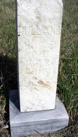 CASTOR, ROLLAND - Frontier County, Nebraska | ROLLAND CASTOR - Nebraska Gravestone Photos
