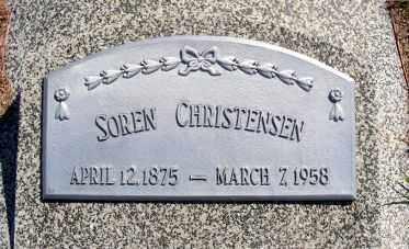 CHRISTENSEN, SOREN - Frontier County, Nebraska | SOREN CHRISTENSEN - Nebraska Gravestone Photos