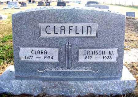 CLAFLIN, CLARA - Frontier County, Nebraska | CLARA CLAFLIN - Nebraska Gravestone Photos