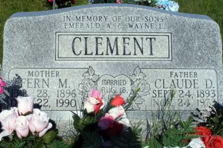 CLEMENT, FERN M. - Frontier County, Nebraska   FERN M. CLEMENT - Nebraska Gravestone Photos