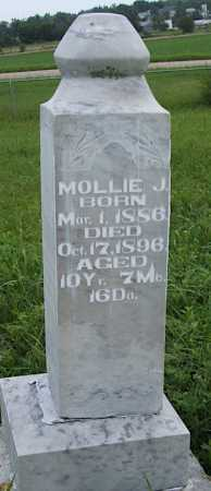 COLE, MOLLIE J. - Frontier County, Nebraska | MOLLIE J. COLE - Nebraska Gravestone Photos