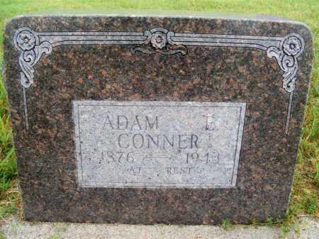 CONNER, ADAM E. - Frontier County, Nebraska | ADAM E. CONNER - Nebraska Gravestone Photos