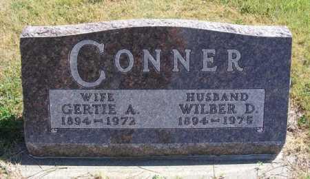 SPEER CONNER, GERTIE A. - Frontier County, Nebraska   GERTIE A. SPEER CONNER - Nebraska Gravestone Photos