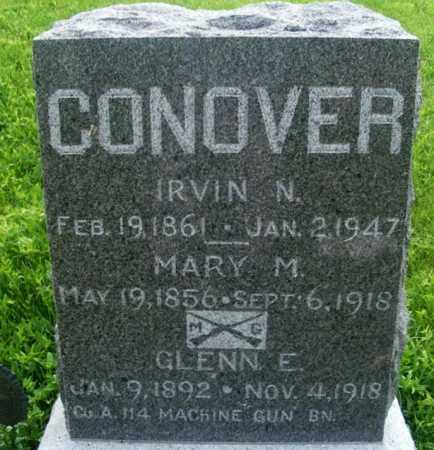 CONOVER, GLENN E. - Frontier County, Nebraska | GLENN E. CONOVER - Nebraska Gravestone Photos