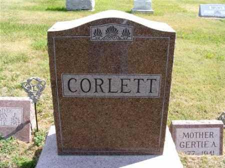 CORLETT, FAMILY - Frontier County, Nebraska | FAMILY CORLETT - Nebraska Gravestone Photos