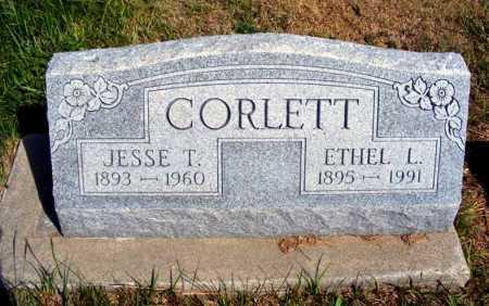 CORLETT, JESSE T. - Frontier County, Nebraska | JESSE T. CORLETT - Nebraska Gravestone Photos