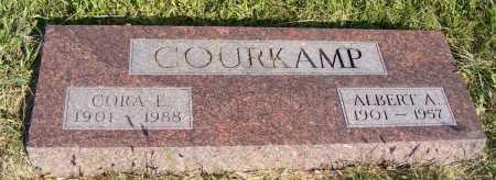 COURKAMP, ALBERT A. - Frontier County, Nebraska | ALBERT A. COURKAMP - Nebraska Gravestone Photos