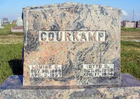 COURKAMP, LOUISE C. - Frontier County, Nebraska | LOUISE C. COURKAMP - Nebraska Gravestone Photos