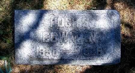 COWMAN, HUGH S. - Frontier County, Nebraska | HUGH S. COWMAN - Nebraska Gravestone Photos
