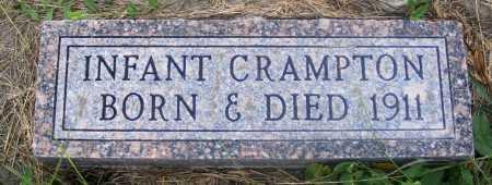 CRAMPTON, INFANT - Frontier County, Nebraska | INFANT CRAMPTON - Nebraska Gravestone Photos