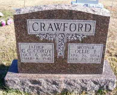 PICKEL CRAWFORD, OLLIE I. - Frontier County, Nebraska | OLLIE I. PICKEL CRAWFORD - Nebraska Gravestone Photos