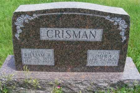 CRISMAN, WILLIAM R - Frontier County, Nebraska   WILLIAM R CRISMAN - Nebraska Gravestone Photos