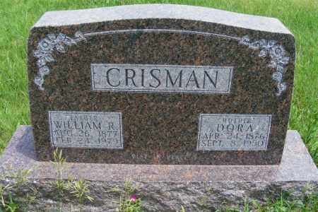 CRISMAN, DORA - Frontier County, Nebraska | DORA CRISMAN - Nebraska Gravestone Photos
