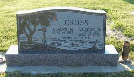 NICKERSON CROSS, GLADYS M. - Frontier County, Nebraska | GLADYS M. NICKERSON CROSS - Nebraska Gravestone Photos