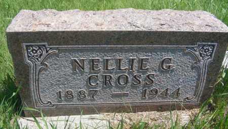 CROSS, NELLIE G. - Frontier County, Nebraska | NELLIE G. CROSS - Nebraska Gravestone Photos
