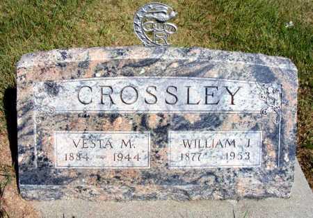 CROSSLEY, VESTA M. - Frontier County, Nebraska | VESTA M. CROSSLEY - Nebraska Gravestone Photos