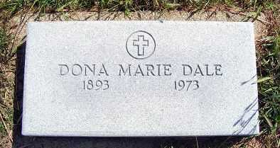 NEWELL DALE, DONA MARIE - Frontier County, Nebraska | DONA MARIE NEWELL DALE - Nebraska Gravestone Photos
