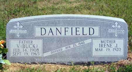 DANFIELD, V. (BUCK) - Frontier County, Nebraska | V. (BUCK) DANFIELD - Nebraska Gravestone Photos