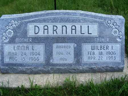 DARNALL, WILBER I. - Frontier County, Nebraska | WILBER I. DARNALL - Nebraska Gravestone Photos