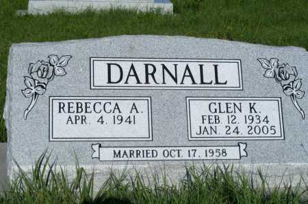 BYNUM DARNALL, REBECCA A. - Frontier County, Nebraska | REBECCA A. BYNUM DARNALL - Nebraska Gravestone Photos