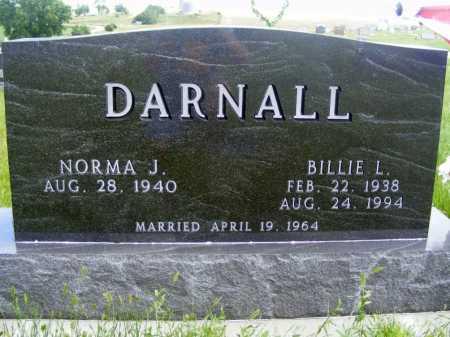 DARNALL, BILLIE L. - Frontier County, Nebraska | BILLIE L. DARNALL - Nebraska Gravestone Photos