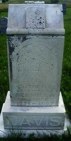 DAVIS, LUTHER L. - Frontier County, Nebraska   LUTHER L. DAVIS - Nebraska Gravestone Photos