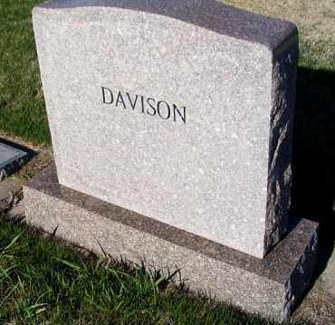 DAVISON, FAMILY - Frontier County, Nebraska | FAMILY DAVISON - Nebraska Gravestone Photos