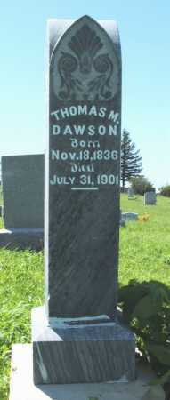 DAWSON, THOMAS M. - Frontier County, Nebraska | THOMAS M. DAWSON - Nebraska Gravestone Photos