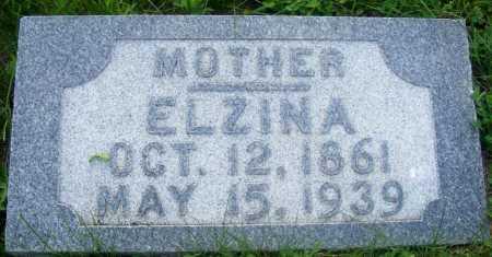 PAINTER DELATE, ELZINA - Frontier County, Nebraska   ELZINA PAINTER DELATE - Nebraska Gravestone Photos