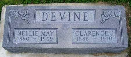 DEVINE, NELLIE MAY - Frontier County, Nebraska | NELLIE MAY DEVINE - Nebraska Gravestone Photos