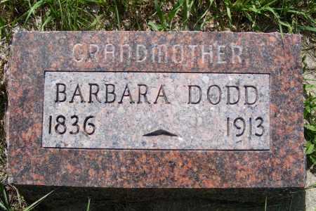 DODD, BARBARA - Frontier County, Nebraska   BARBARA DODD - Nebraska Gravestone Photos