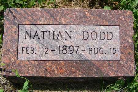 DODD, NATHAN - Frontier County, Nebraska | NATHAN DODD - Nebraska Gravestone Photos