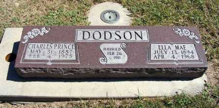 DODSON, ELLA MAE - Frontier County, Nebraska | ELLA MAE DODSON - Nebraska Gravestone Photos