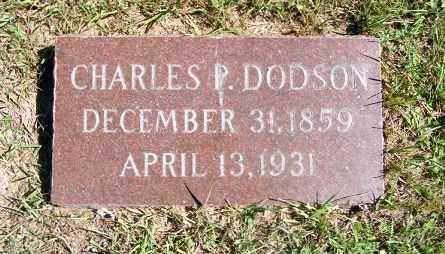 DODSON, CHARLES P. - Frontier County, Nebraska | CHARLES P. DODSON - Nebraska Gravestone Photos