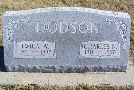 DODSON, CHARLES N. - Frontier County, Nebraska | CHARLES N. DODSON - Nebraska Gravestone Photos