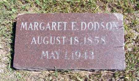 DODSON, MARGARET E. - Frontier County, Nebraska | MARGARET E. DODSON - Nebraska Gravestone Photos