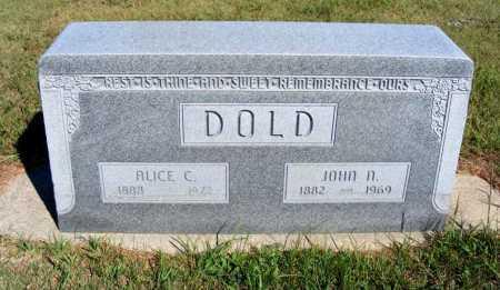 DOLD, JOHN N. - Frontier County, Nebraska   JOHN N. DOLD - Nebraska Gravestone Photos