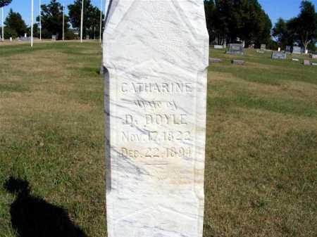 DOYLE, CATHARINE - Frontier County, Nebraska | CATHARINE DOYLE - Nebraska Gravestone Photos